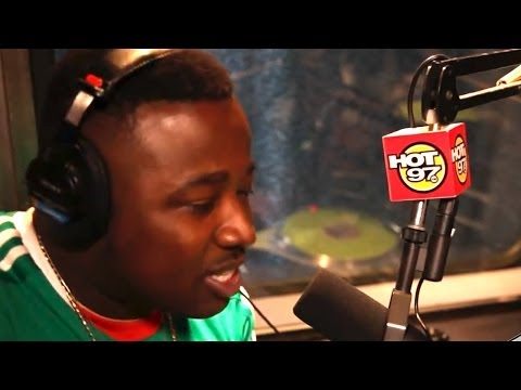 """TROY AVE freestyle on """"The Hot Box"""""""