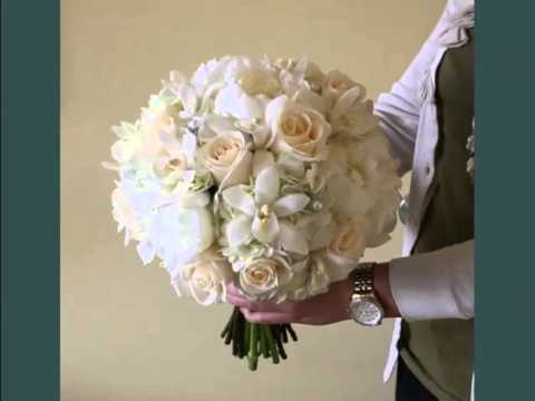 white hydrangea and peony bouquet set of beautiful flower pictures youtube - Garden Rose And Hydrangea Bouquet