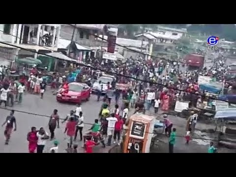 Forte explosion ce matin a Douala la thèse du terrorisme confirmé et la situation de Bamenda
