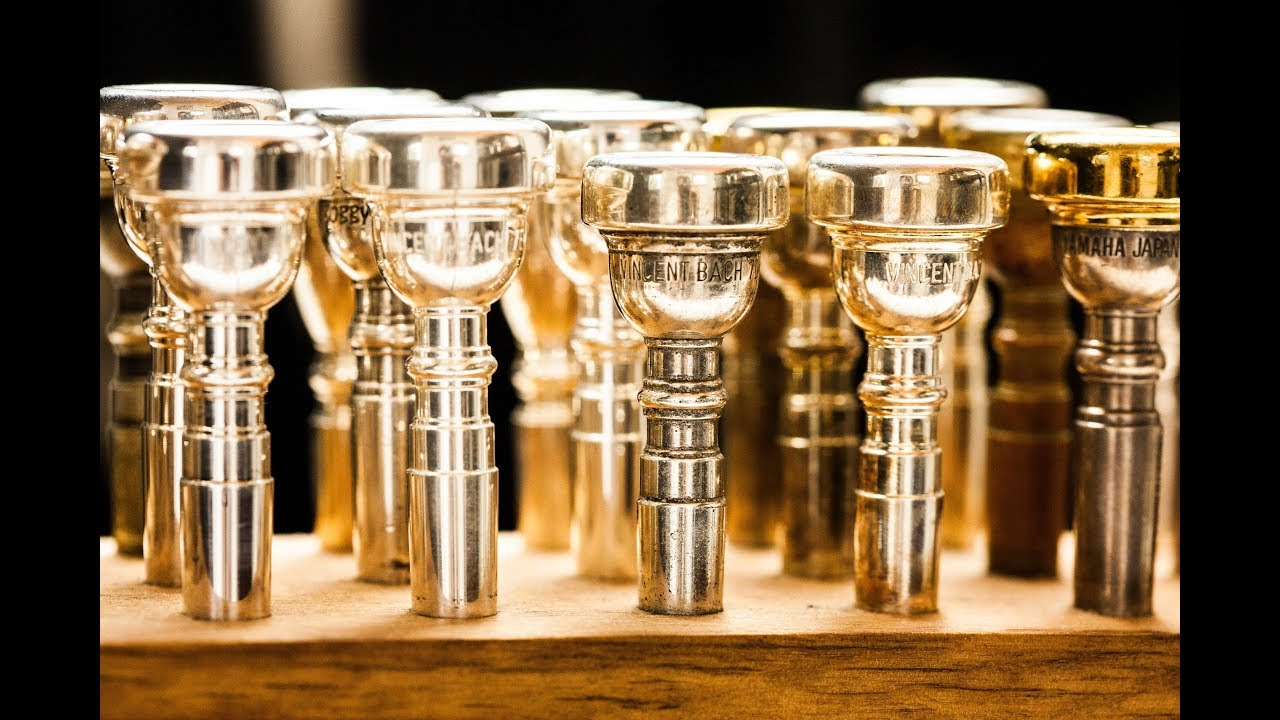 Choosing the right trumpet mouthpiece - comparing the Bach 1 5c/3c/5c/7c  and more