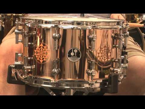 Sonor Danny Carey 8x14 Bronze Snare Drum