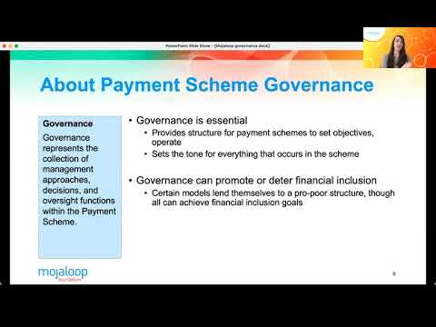 Real Time Retail Payment Scheme Governance