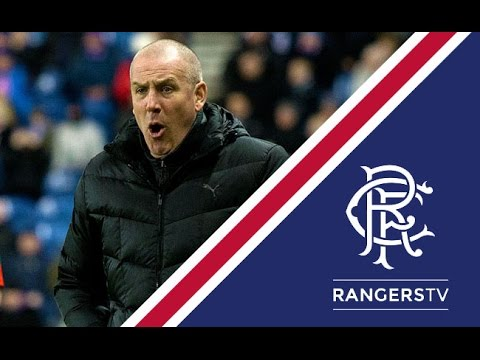REACTION   Mark Warburton   Rangers 2 - 0 Raith