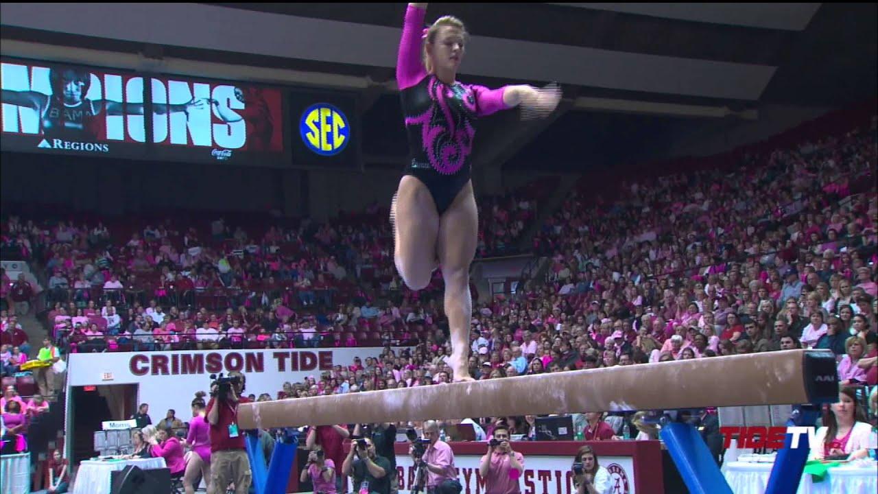 savannah pink gymnastics meet 2015