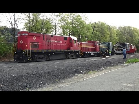 URHS Vintage Equipment Movement - Whippany to Boonton 4/30/17