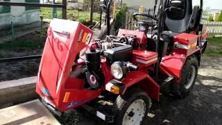 Саморобний, самоделка. Мини трактор з мотоблока мотор сич, Міні трактор з мотоблока.