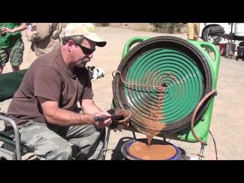 """Keene's New Gold Concentrating Wheel 25""""  first field test"""