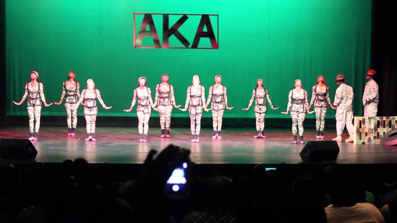 BCU Homecoming Step Show 2013 Alpha Kappa Alpha - YouTube