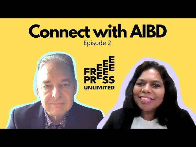 Connect with AIBD Episode 2 - Behind Free Press Unlimited Mr Leon Willems