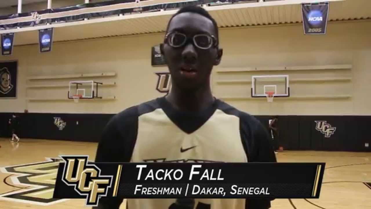 NEWS: Tacko Fall Begins Career at UCF - YouTube