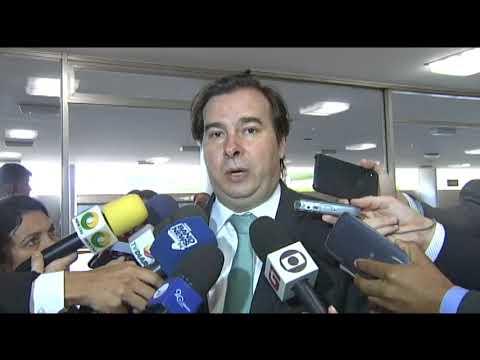 Câmara não votará aumento de impostos, garante Maia - 29/05/2018