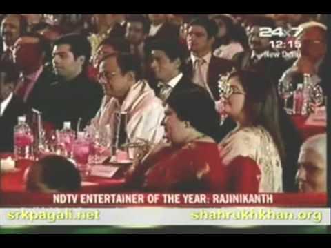 king khan interviewed rajini sir