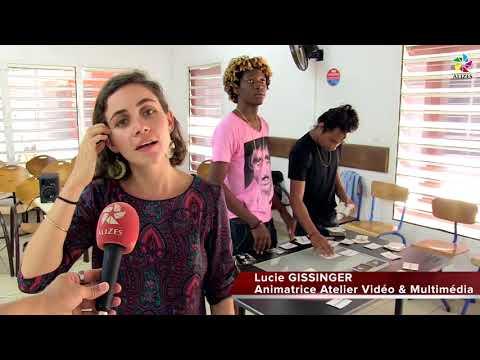 Reportage sur la semaine de l'Art au lycée de Mana, Léopold Elfort