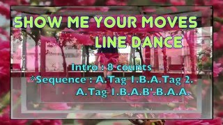 Show Me Your Moves Line Dance