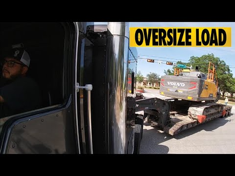 A Day In The Life Of A Heavy Haul Trucker | Kenworth Moving Oversize Load