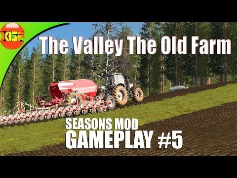 The Valley The Old farm fs17 seasons Mod gameplay# 5, Planting Crops in spring