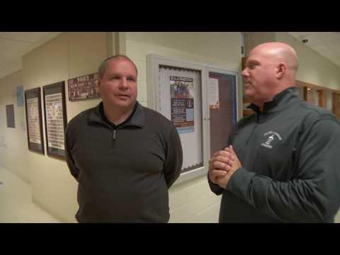 Mark Grant visits Joliet Catholic Academy