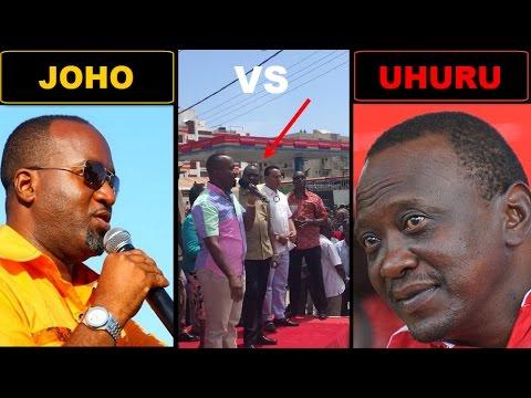 Joho Shares Platform With Uhuru and Destroys Uhuru&39;s Fake Propaganda Projects