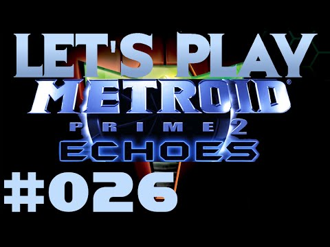 Let's Play Metroid Prime 2 Echoes Part #026 Not Enough Energy