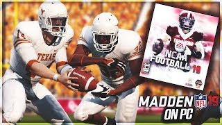 NCAA Football 19 Is Coming!? | NCAA Football Mod For Madden 19 on PC Is A Reality!
