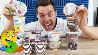 MEGA! Diese günstigen Joghurts und Puddings gibt es NUR IM ALDI SÜD! - Test