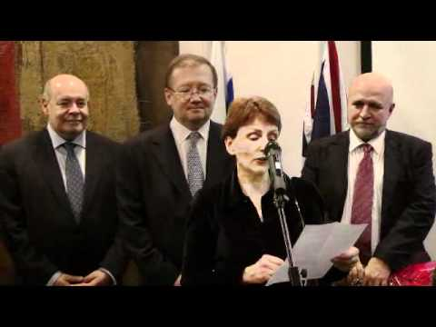Helen Sharman receives Russian award