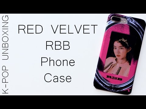 Red Velvet RBB Phone Case (Irene) | Unboxing