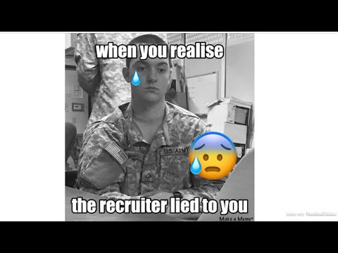Went to See a Recruiter Today | 2 Year Contract