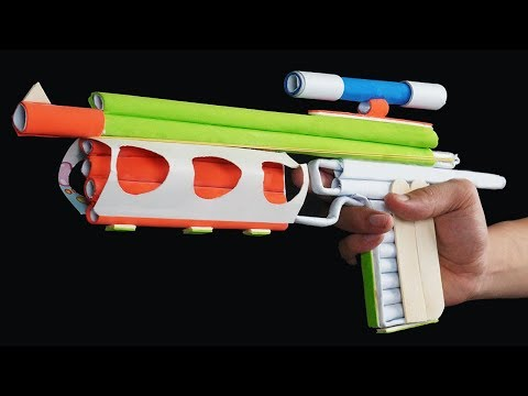 Amazing DIY Paper Gun Life Hacks - How to Make a Paper Gun