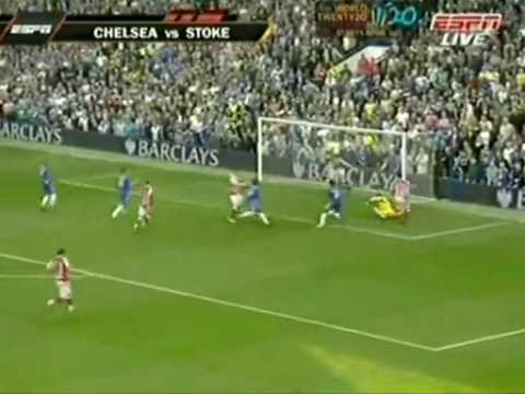 Chelsea 7-0 Stok City Highlights 25.04.2010