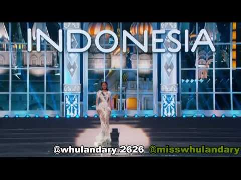MISS INDONESIA UNIVERSE (Whulandary) - Preliminary Competition MISS UNIVERSE 2013