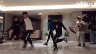 20161121【TFBOYS】Hậu Trường Shuffle Dance Nhí Nhố《三只不正常的系列》Part 2