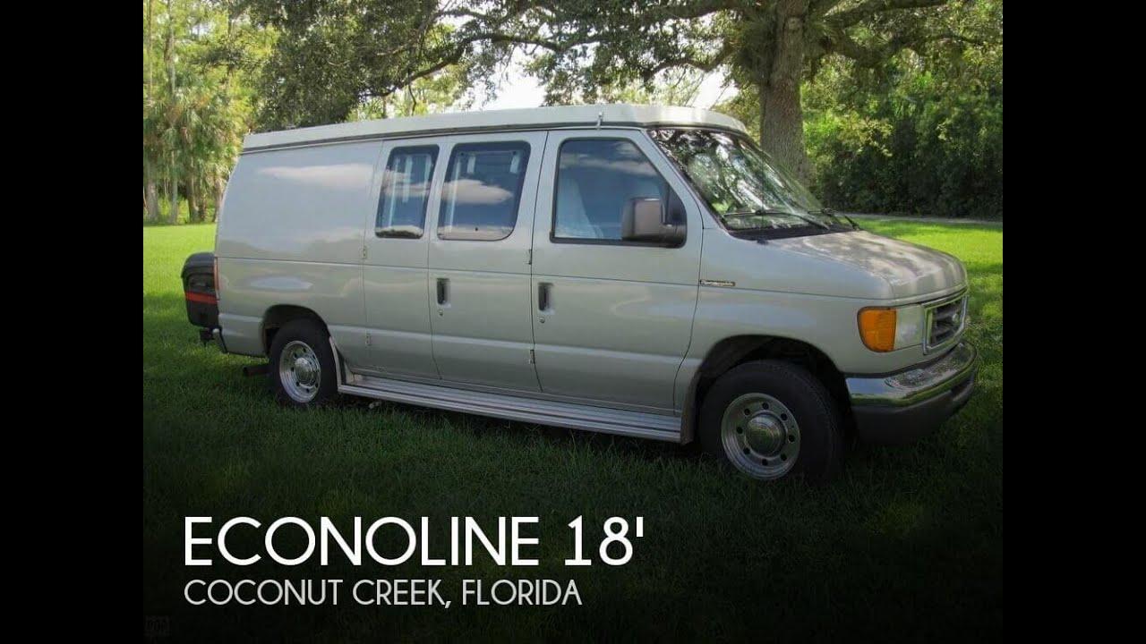 Used 2006 Econoline E250 Sportsmobile For Sale In Coconut Creek