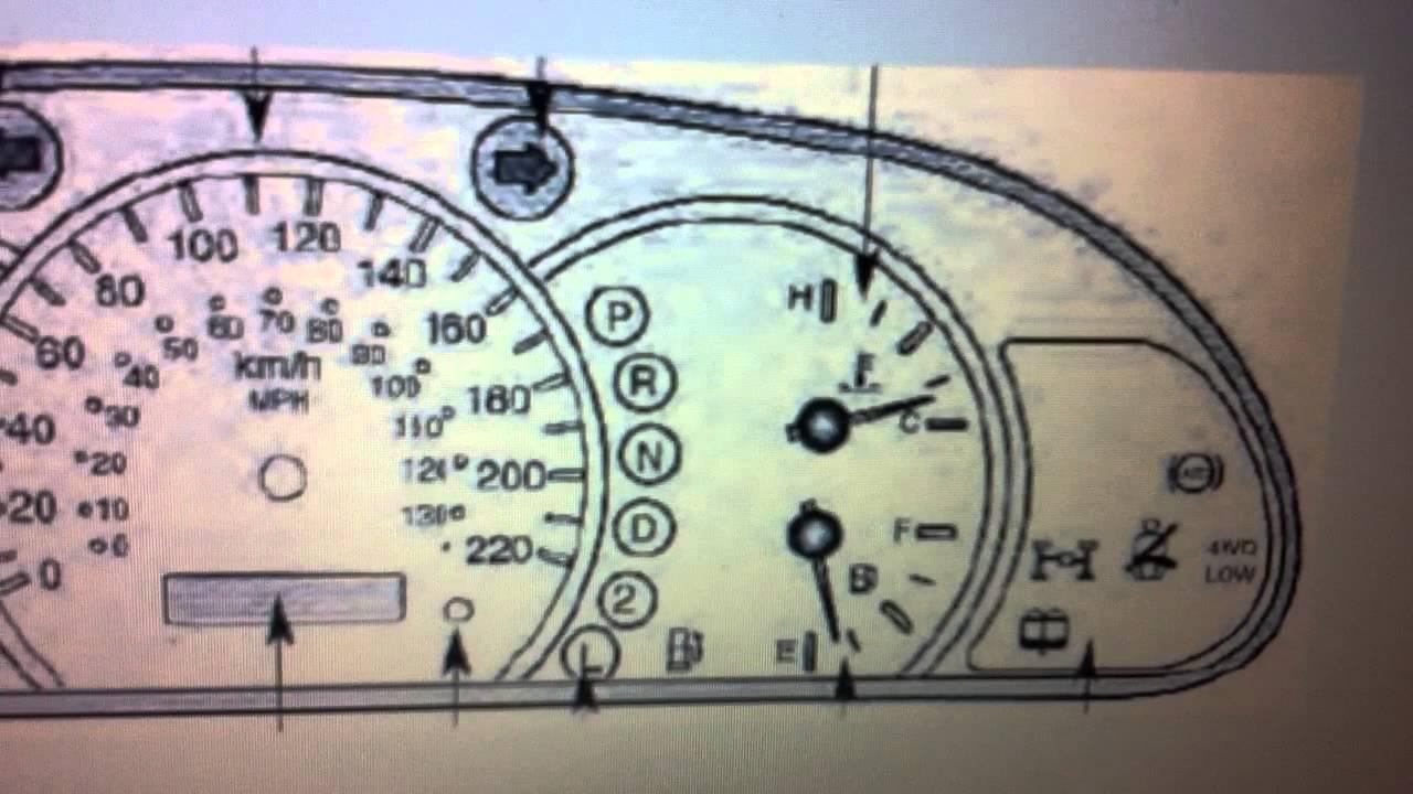 Kia Sorento Mk1 Dashboard Warning Lights Symbols What They