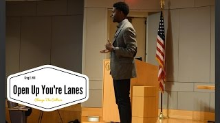 Greg E. Hill | Open Up You're Lanes! |2016