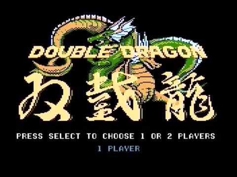 Atari 7800 Double Dragon Playthrough
