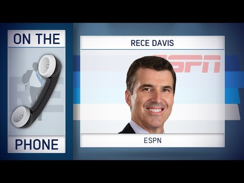 ESPN's Rece Davis Talks OSU/Michigan, CFB Playoff & More w/Rich Eisen | Full Interview | 11/26/18