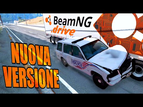 BeamNG Drive AGGIORNATO: INSEGUIMENTO e FURTO a PIEDI!