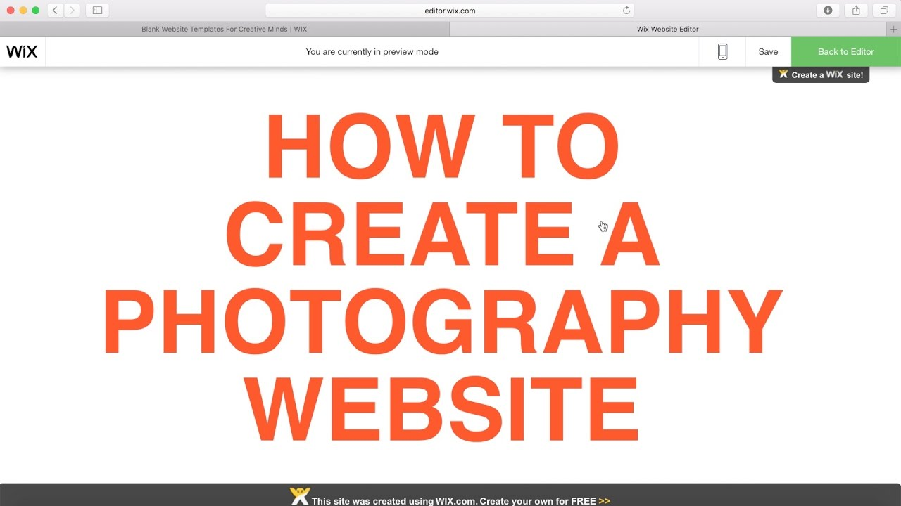 How to Build a website for Photographers - YouTube