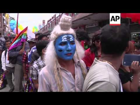 Gay, lesbian and transgender Nepalis rally for greater rights