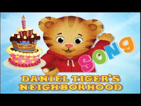 Daniel Tiger S Neighborhood Happy Birthday Daniel Tiger S Birthday Song Youtube
