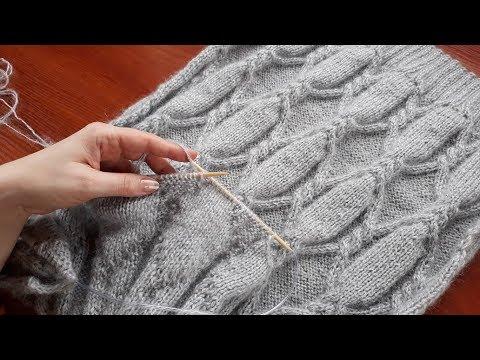 платье туника пуловер спицами часть 4 убавления проймы Youtube