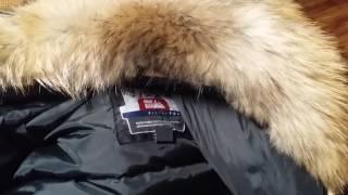 Real Raccoon fur collar