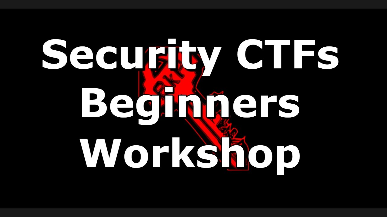 2015 Intro to Web Security CTFs for Beginners - Workshop Edition