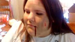 Halloween blood pill