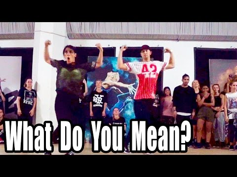 WHAT DO YOU MEAN - Justin Bieber Dance | @MattSteffanina Choreography (Int/Adv Hip Hop)