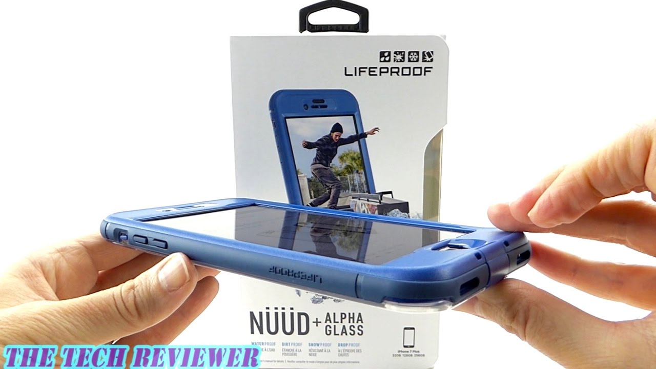 new arrival 76449 88dd6 *NEW* LifeProof NUUD + Alpha Glass for iPhone 7 Plus: Installation and  Review!