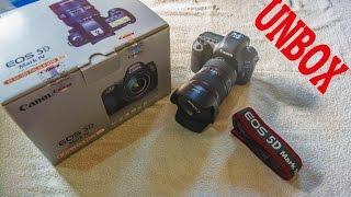 Canon EOS 5D Mark IV 30.4 MP with EF 24-105mm F/4 L IS II USM Lens Kit unbox