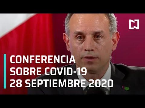 Conferencia Covid-19 en México - 28 septiembre 2020