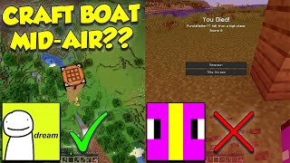 Attempting Dream&#39s MLG Boat Mid-Air Play